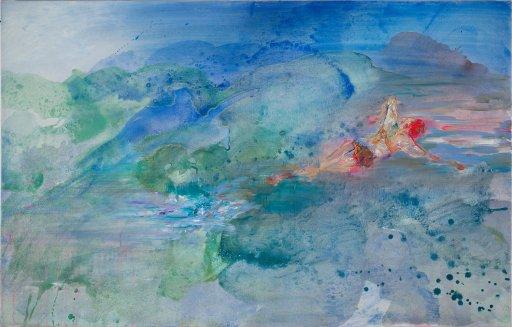 Acryl / Öl auf Leinwand | 70 x 110 cm