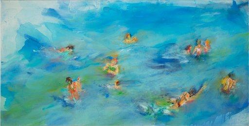 Acryl / Öl auf Leinwand | 70 x 140 cm