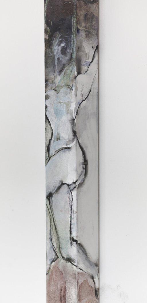 100 x 6 x 6 cm | Mischtechnik auf MDF