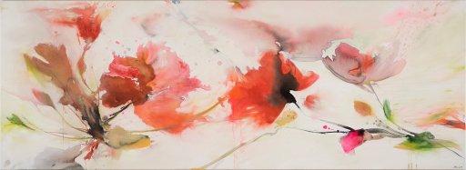 Acryl / Öl auf Leinwand | 80 x 220  cm