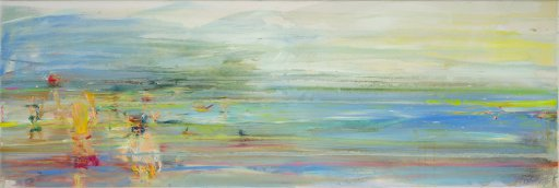 Acryl / Öl auf Leinwand 40 x 120 cm