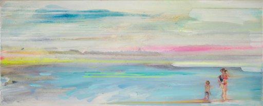 40 x 100 cm Acryl / Öl auf Leinwand
