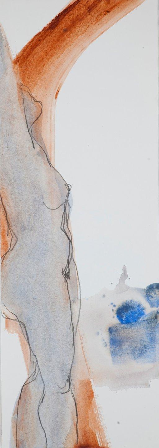 Mischtechnik auf Papier 75 x 25 cm