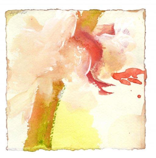 15 cm x 15 cm Acryl auf Bütten