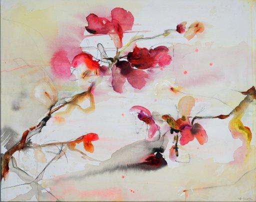 Tropische Blüte von Alexandra Hiltl
