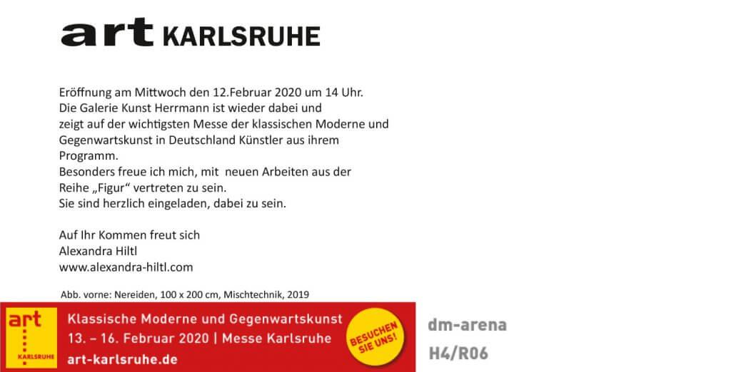 ART Karlsruhe Einladung Rueckseite