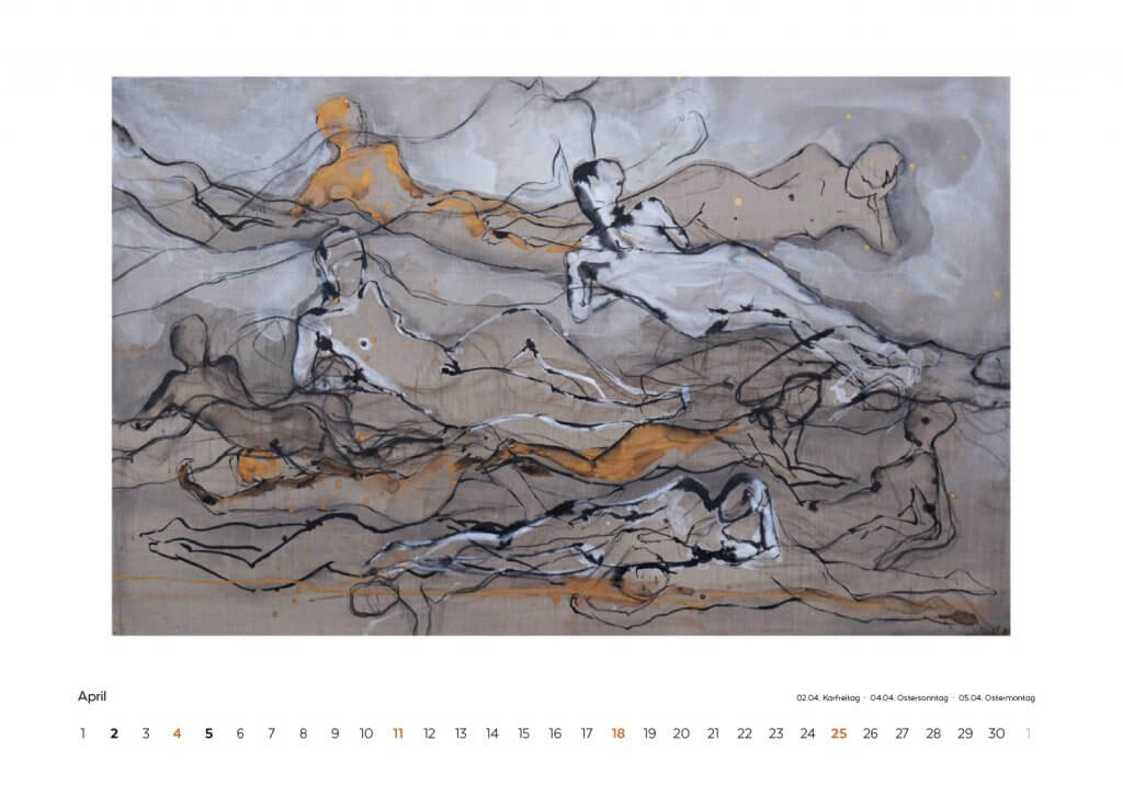 Kalender 2021 April