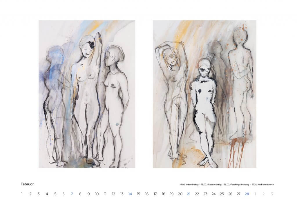 Kalender 2021 Februar