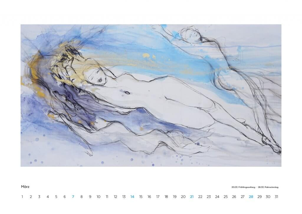 Kalender 2021 März